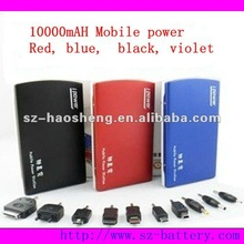 10000mah mobile phone power for iPad and mobile phones, four color