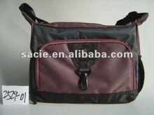 nylon check shoulder bag fashion style 2012