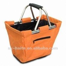 shopping basket for vegetable and fruitMarket toteSupermarket cart bag(Oxford,alufer,fashion,Eco-friendly)