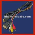 Hdmi hdtv to vga hd15 y/pb/pr 3 rca adapter cable