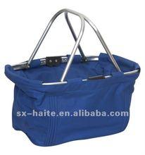 Folding shopping basketMarket toteSupermarket cart bag(Fashion,Eco-friendly,oxford)