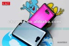 Aluminum cover for Samsung Galaxy Note i9220 mobile phone