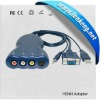 VGA to RCA and Svideo Converter with audio