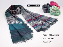 2012 new lady polyester scarf