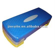 fitness plastic adjustableaerobic step platform