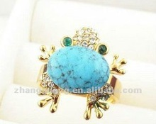 2012 latest frog alloy ring