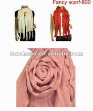 2012 fashion rose pashmina sacrf