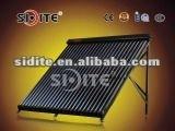 horizontal vacuum tube Flat roof bracket vacuum tube solar tubes EN12975 CE SRCC Heat Pipe Solar Collector