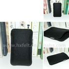 Felt Mobile Phone Case With Many Styles ,Quality and cheap