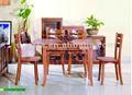 2011 de madera maciza mesa de comedor y silla se hace de la importación de madera de caucho