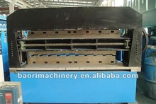 Russian Model C8/C15 double layer Roof Tile Roll Forming machine -- Shanghai Baori Machinery