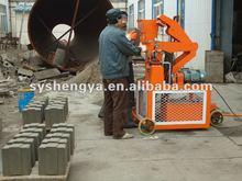 SY1-20 Hot selling foam Hydraulic Interlocking Block Making Machine Africa