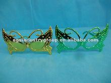Mardi Gras Cat's Eye Mask Glasses