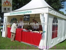 CE-Certificated Luxury Aluminum Frame PVC Cover Trade Show Booth(5m*5m)