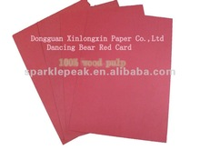 Wedding red cards