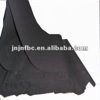 50/50 poly/cotton black waterproof canvas 25OZ tent fabric