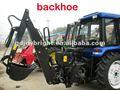 Tractor con retroexcavadora, toma de fuerza, auto - potencia, remolcable, hidráulico de la transmisión, independiente de la bomba de engranajes, 3 puntos de conexión, ce