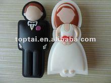 Promotional Gift wedding usb flash/groom & bride usb flash