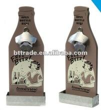 Promotional wall bottle opener; wine opener; high quality bottle opener;