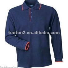wholesale customized long sleeve polo tee shirts