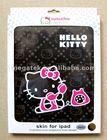 high quality Hello Kitty folio leather case for ipad 2 3 4, for ipad case air mini ,for ipad air case hello kitty