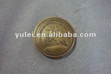 2012 anti bronze metal souvenir coin