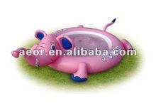 inflatable elephant swimming pool