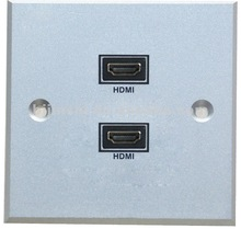 wall socket plate HDMI outlet for family, office and hotel
