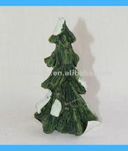 2012 Polyresin Mini Snowing Xmas Tree