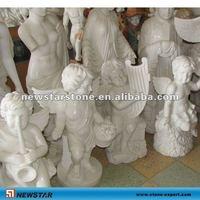 children angel stone statue