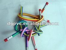 2012 hot sale! Soft plastic cool pencil case