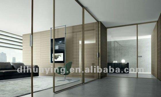 Int rieur coulissante en verre mur verre de construction id du produit 529349 - Mur en verre interieur ...