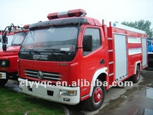 4*2 3t small Water Tanker Fire Truck
