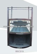 cast iron stove and fireplace BSC019