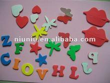 EVA foam craft sticker/promotion gift/EVA Halloween sticker