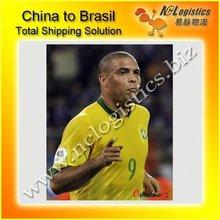 logistics agent Guangzhou to Brasil