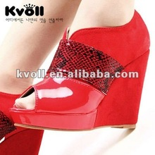 2012 fashion high heel lady shoes