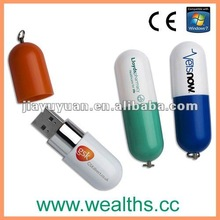 Mini medical pill USB 2.0 flash drive with logo 2GB/4GB/8GB
