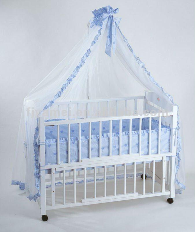 Beb mosquiteros cuna beb para cama con dosel mosquiteros - Dosel para cunas ...