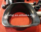 carbon steel saddle butt welded end