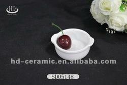 Durable ceramic pie plate