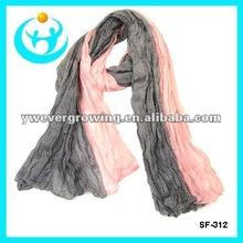 fashion lady color blending shawls