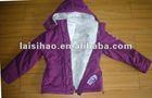 Girls pink Cotton cotton varsity coats and jackets