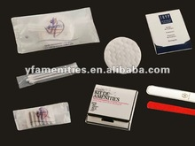 2012 Hotel Vanity Kit,nail file,cotton tips,cotton balls in hotel amenities