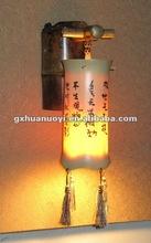 Bamboo wall Lamp / bamboo and wood craft arts