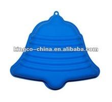 (KBW-035) Blue Jingling Bell Shape Silicon Cake moulder