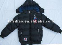 2012 boys stylish quilted shiny padded jacket