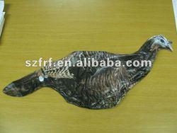Hunting target inflatable turkey