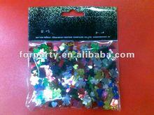 CFT-0003 party pvc confetti (shamrock shape)