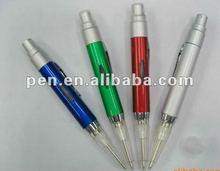 Plastic spray ball pen